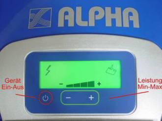 Alpha Dampfsauger